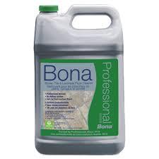 bona stone tile laminate floor cleaner fresh scent 1 gal refill bottle