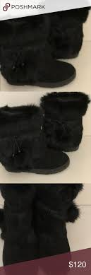 Bearpaw Boots Size Chart Nwot Bearpaw The Tama Fluffy Boots