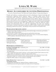 Accounts Payable And Receivable Resume Sample Simple Accounts