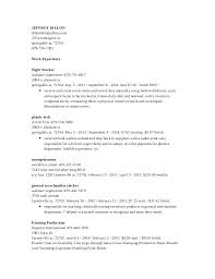 Stocker Job Description For Resume