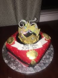 My Boyfriends 25th Birthday Custom Cake Yelp
