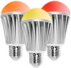 Flux Bluetooth Smart Light Bulb Starter Pack Color Changing Light Bulb Sunrise Wake Up Light Dimmable Led Light Bulbs App Controlled Wireless