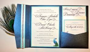 peacock invitations peacock wedding invitations beautiful and elegant elasdress