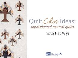 Quilt color ideas: sophisticated neutral quilts - YouTube &  Adamdwight.com