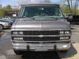 1995 Light Slate Gray Metallic Chevrolet Chevy Van G20 Passenger ...