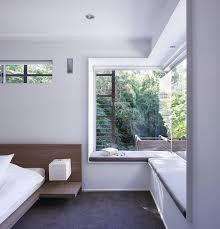 A window seating for corner window