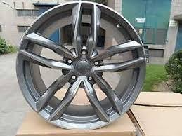 Audi Bolt Pattern Adorable 48 GUNMETAL MACHINE RS48 DRIFT STYLE WHEELS RIMS FITS 48X48 BOLT