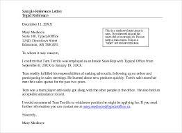 samples of a letter of recommendation reference letter samples for job images letter format formal sample