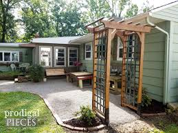 diy garden arbor with faux patina build plans prodigal pieces intended for pm diy home arbor