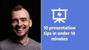 10 Presentation Tips In Under 10 Minutes Presentation Hero Youtube