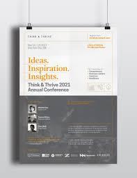 Corporate Invitation Design Inspiration A Set Of 4 Event Conference Seminar Forum Symposium