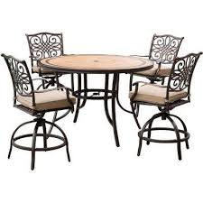 stone bar height dining sets