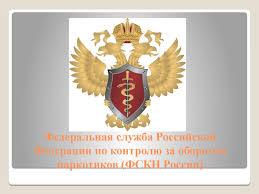 Отчет по практике Федеральная служба РФ по контролю за оборотом  Отчет по практике Федеральная служба Российской Федерации по контролю за оборотом наркотиков ФСКН России