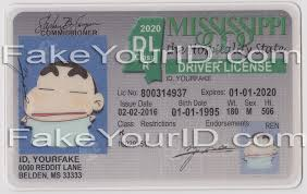 Premium Scannable Fake Mississippi We Id - Buy Make Ids