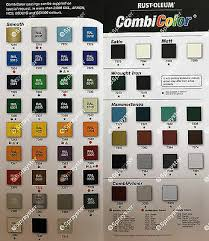 Rustoleum Combicolor Colour Chart Direct To Metal Black Paint Rust Oleum Combicolor Original
