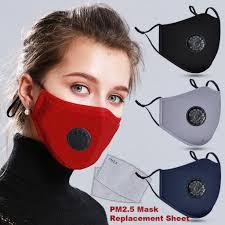 BEQSQS Anti Pollution <b>Mask</b> PM2.5 Air Dust Face <b>Masks Washable</b> ...