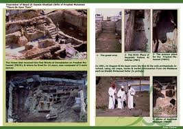 Image result for Archaeological image of the Haram in Mecca