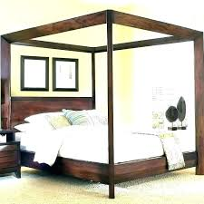 wood canopy bed – instapeach.co