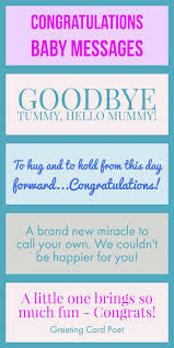 Congratulate On New Baby Congratulations Baby Messages Quotes Wishes And Sayings