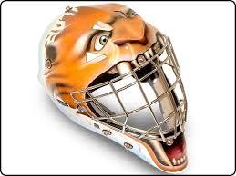 ice age theme goalie mask