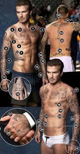 David Beckham Das Bedeuten Seine Zahlreichen Tattoos Sternde