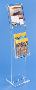Acrylic Flyer Display Stand Workshop Series 100100 X 100 Acrylic Sign Stand 100 Adjustable 84