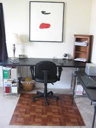 diy wooden office chair mat