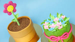 2 Mini Mothers Day Cakes Easy Cakes For Mothers Day Youtube