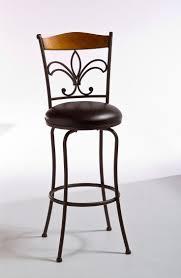 fleur de lis bar stools. Hillsdale Colfax Swivel Bar Stool - Light Oak/Brown Metal/Dark Brown Vinyl $169.00 Fleur De Lis Stools R