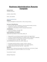 Public Administration Resume Sample