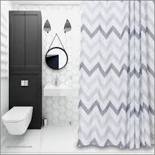 hot pink shower curtains unique chevron fabric shower curtain grey white striped mold