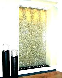 indoor waterfall wall water fountain fountains lighted feature wat