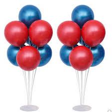 Party Table Decoration Balloon Table Floating Balloon Bunch Birthday Table Pendulum Crystal Balloon