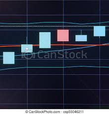 Candle Chart For Stock Business Candle Stick Graph Chart