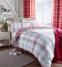 Checked & Striped Quilt Duvet Cover & Pillowcase Bedding Sets ... & Checked-amp-Striped-Quilt-Duvet-Cover-amp-Pillowcase- Adamdwight.com