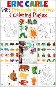 Small Picture FREE Eric Carle book printable activities and coloring pages