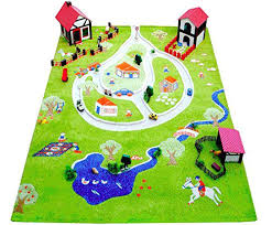 childrens play rug little helper in fun farm design multicoloured x rugs cars childrens play rug larger photo ikea rugs mat uk