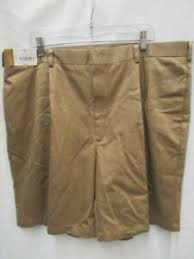 Details About Roundtree Yorke Gold Light Brown Khaki Color Mens Shorts Size 42 Id 5149