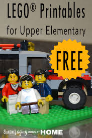 Legos For Free Free Lego Printables For Upper Elementary