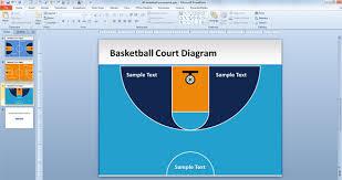 Basketball Powerpoint Template Free Basketball Playbook Powerpoint Template Free Basketball Court