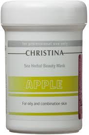 Christina Яблочная <b>маска красоты для</b> жирной и ...