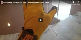 floor leveling foundation heave repair concrete repairman phoenix arizona