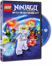 Own it NOW!! LEGO Ninjago: Rebooted: Battle for New Ninjago City Season  Three, Part One -- DVD Review and #Giveaway