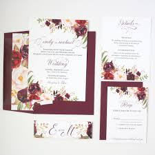 Sample Of Weeding Invitation Wedding Invitation Sample Maroon Invitation Templates Free