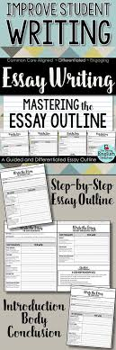 the best persuasive essay outline ideas  essay writing mastering the essay outline guided instructions