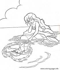 Small Picture THE LITTLE MERMAID COLORING Pages Free Download Printable