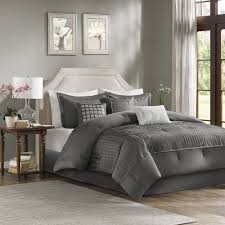 details about beautiful modern contemporary elegant white grey textured duvet cover pillow set