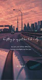 City quotes wallpaper tumblr Sunset ...