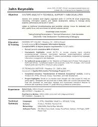 Technical Support Objective Resume Best of Objective For Resume Career Objectives Examples Customer Service