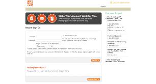 Home Depot Credit Card Login Make A Payment Home Depot Credit Card My Account